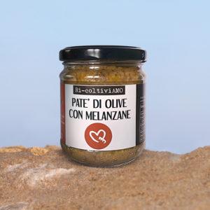 Pate olive con melanzane
